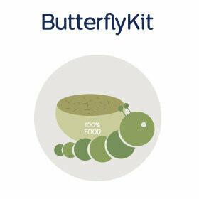 Neue Raupen sowie Futter für das ButterflyKit