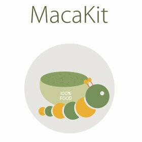 Neue Raupen sowie neues Futter für das MacaKit