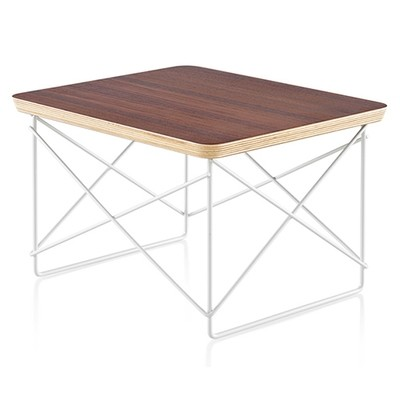 Herman Miller® Eames® Wire Base Low Table Veneer Top