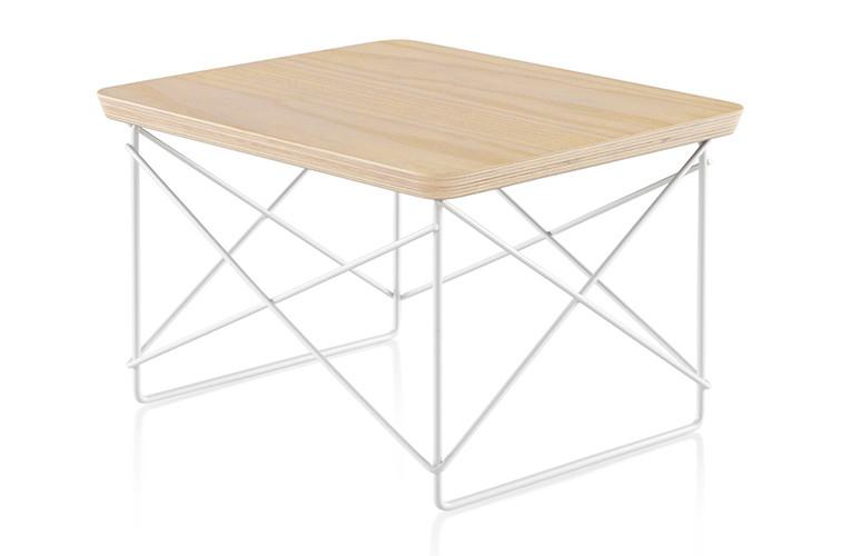 Herman Miller® Eames® Wire Base Low Table Veneer Top