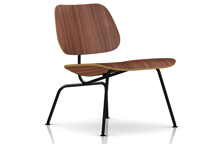 Herman Miller® Eames® Molded  Plywood Lounge Chair Metal Base