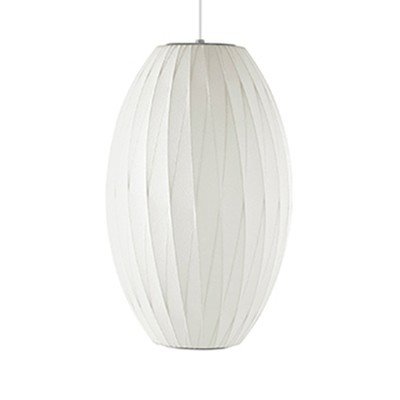 Herman Miller® Nelson® Crisscross Bubble Cigar Suspension Lamp