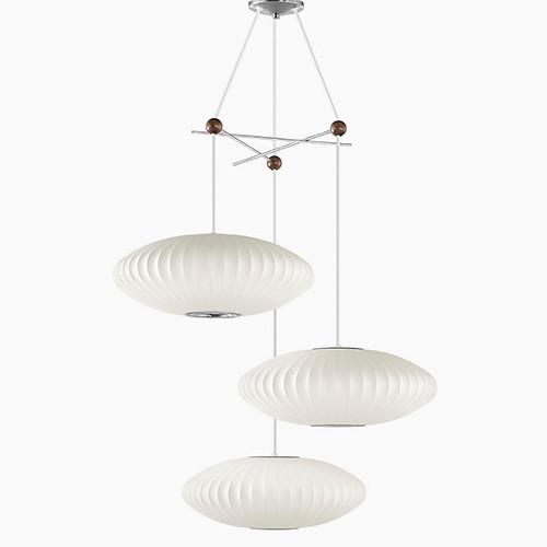 Herman Miller® Nelson® Triple Bubble Lamp Fixture
