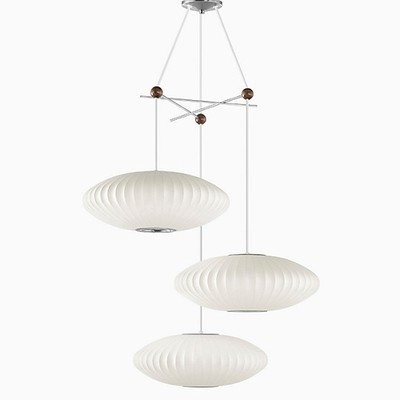 Herman Miller® Nelson® Triple Bubble Lamp Fixture