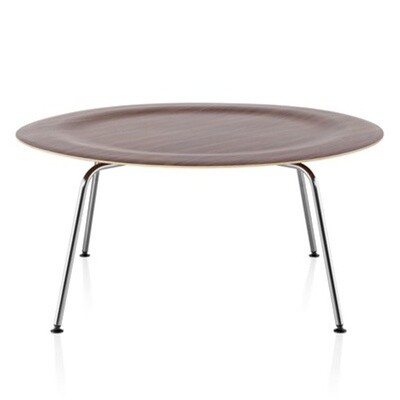 Herman Miller Eames Molded Plywood Coffee Table Metal Base