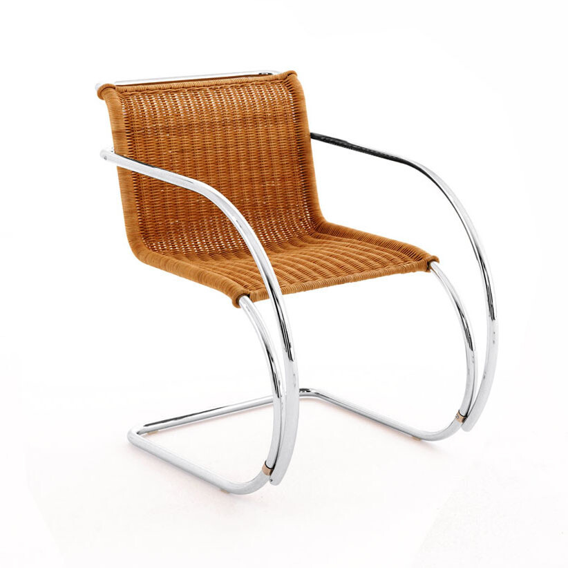 Knoll MR Chair - Rattan