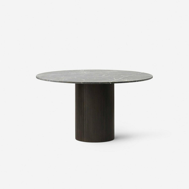 Vipp Cabin round table, light oak base
