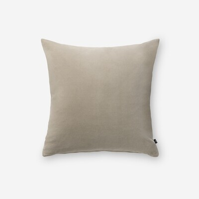 Velour pillow