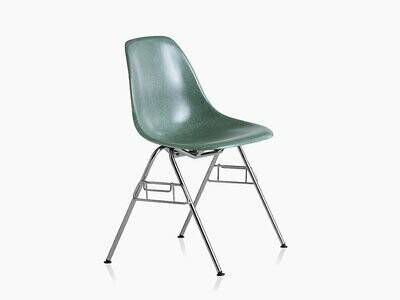 Herman Miller® Eames®  Molded Fiberglass Side Chair, Stacking Base