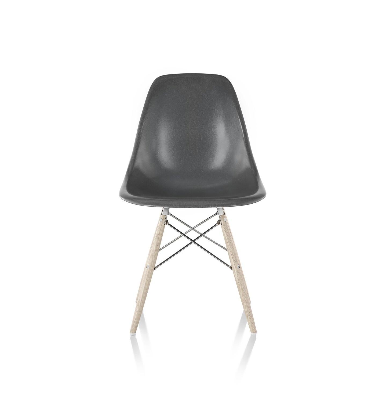 Herman Miller® Eames® Molded Fiberglass Side Chair, Dowel Base