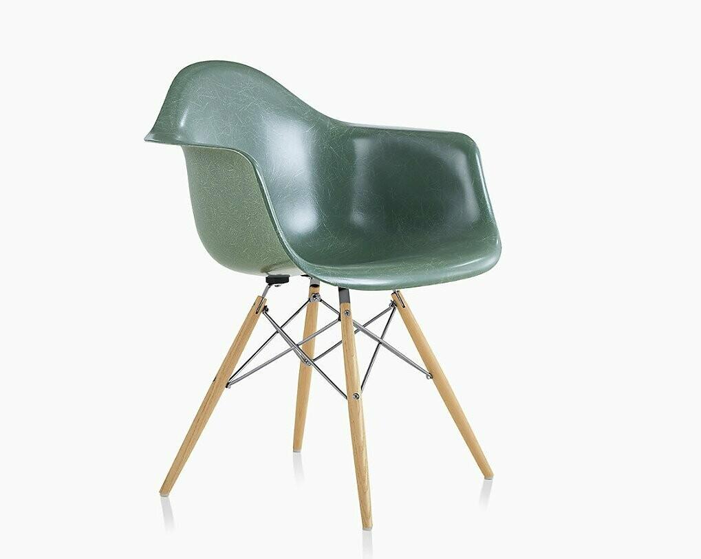 Herman Miller® Eames® Fiberglass Armchair Dowel Base