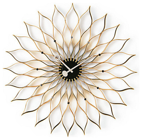 Vitra Sunflower Birch Clock