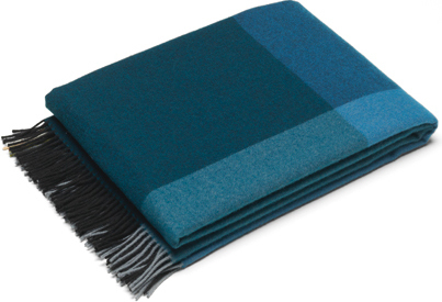 Vitra Blanket Color Block Black Blue