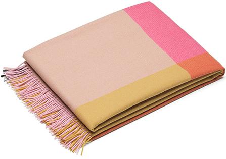 Vitra Blanket Color Block Pink Beige