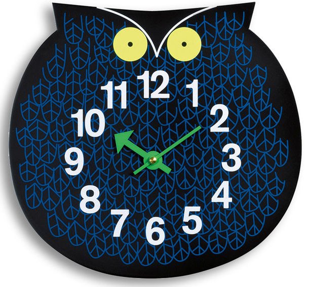 Vitra Omar the Owl Clock