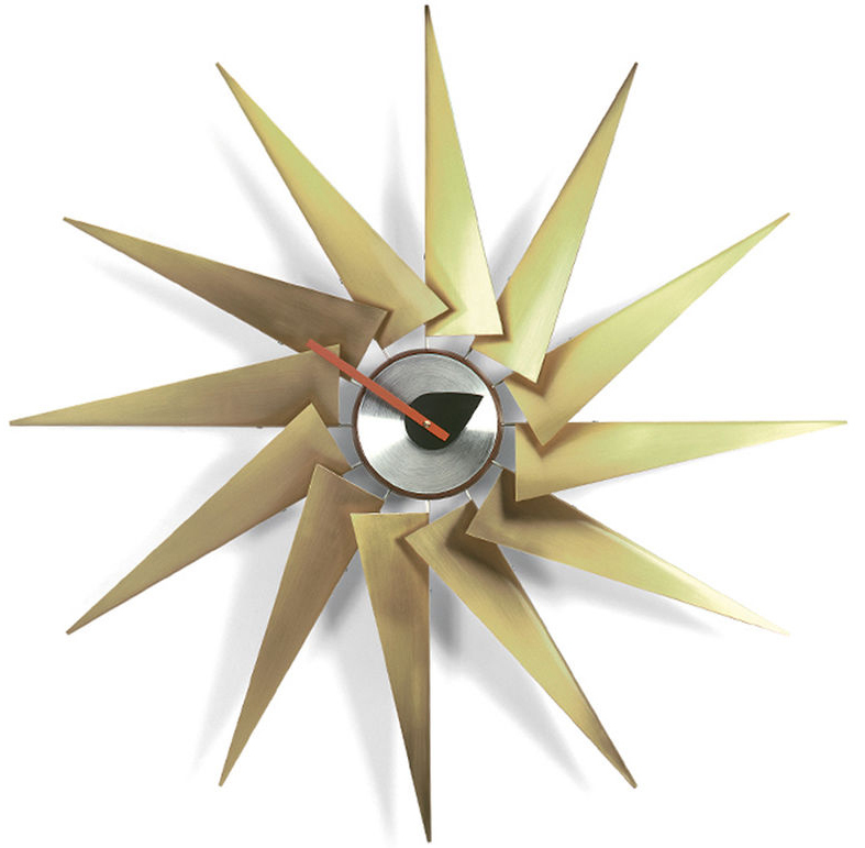 Vitra Turbine Clock