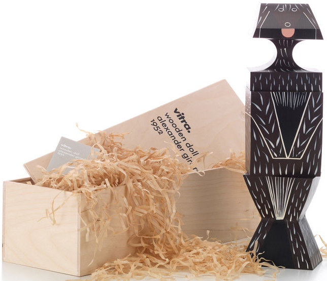 Vitra Alexander Girard Wooden Puzzle Doll XL Dog