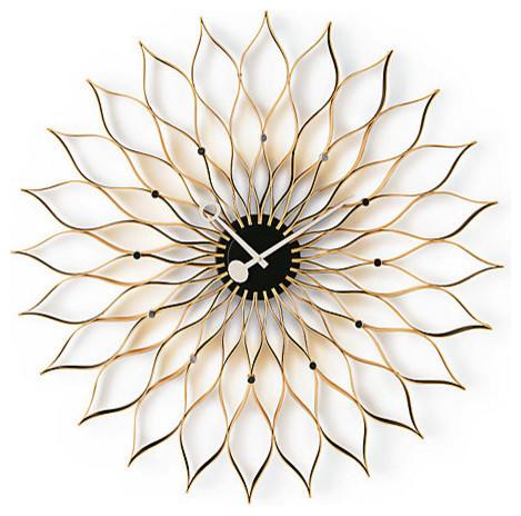Vitra Sunflower Birch Clock