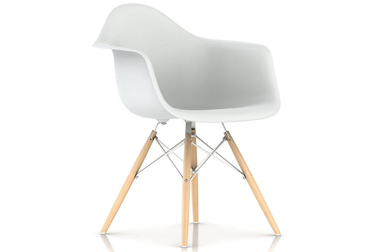 Herman Miller® Eames® Molded Plastic Armchair Dowel Base