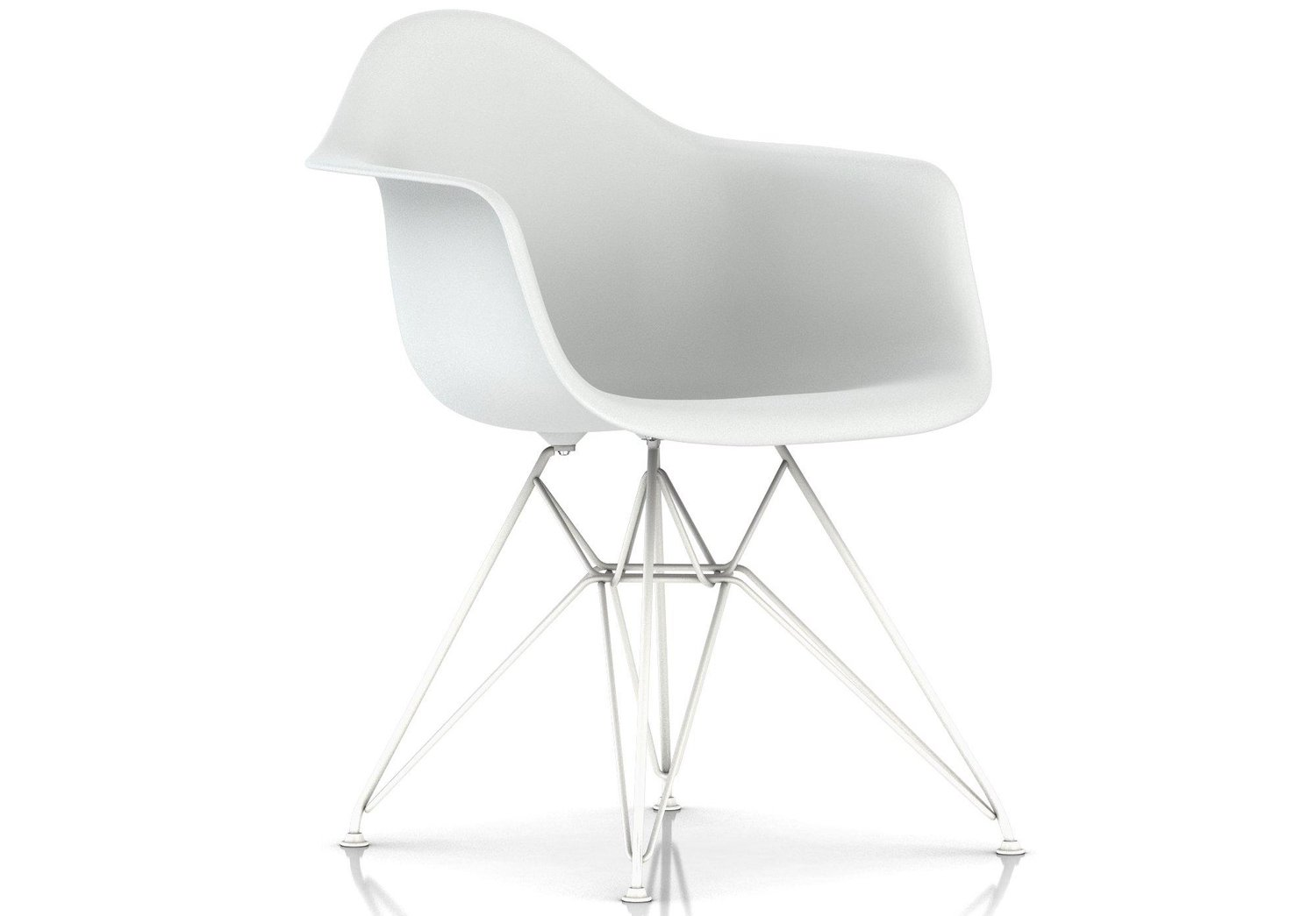 Herman Miller® Eames® Molded Plastic Armchair Wire Base