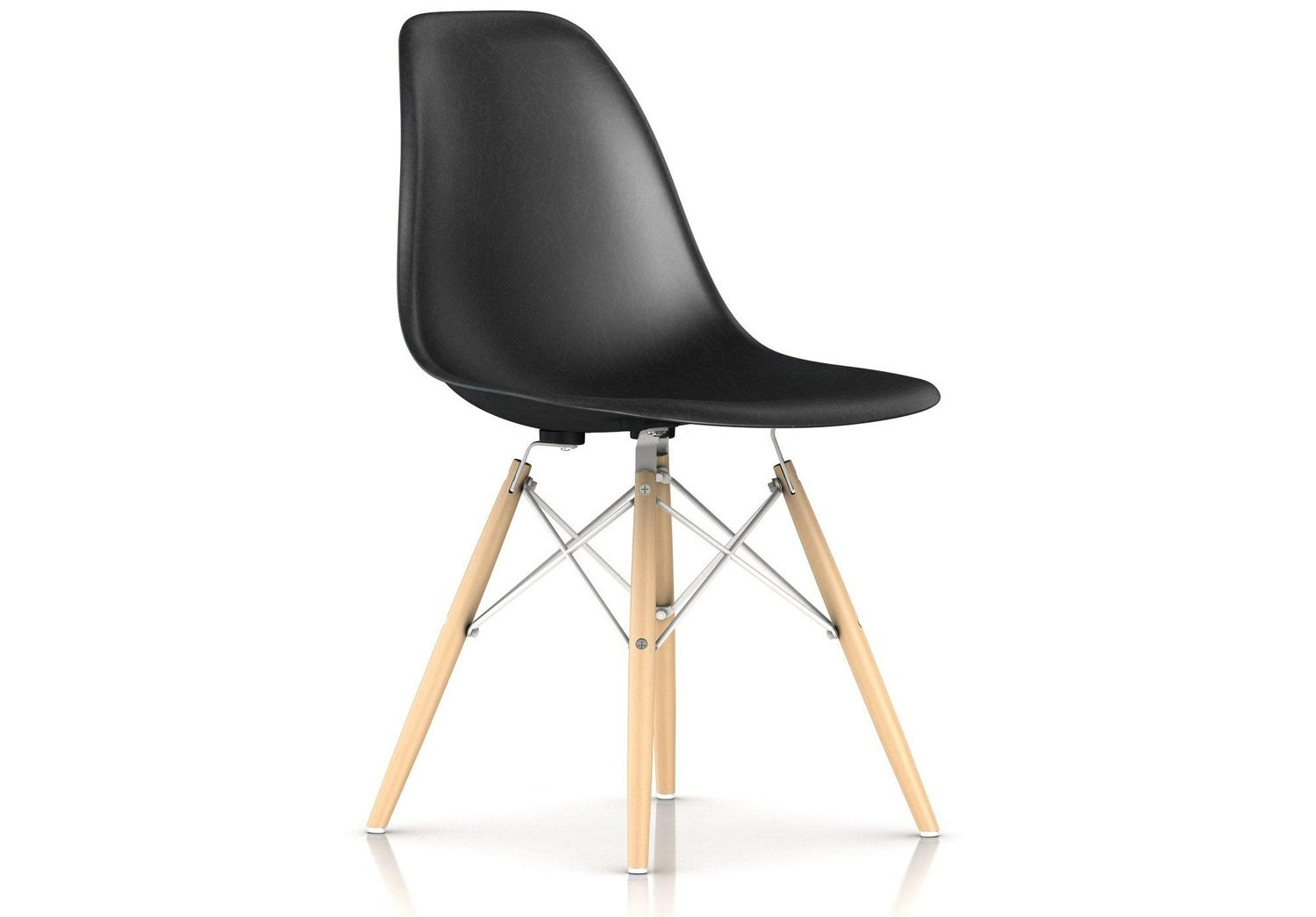 Herman Miller® Eames® Molded Fiberglass Side Chair Dowel Base