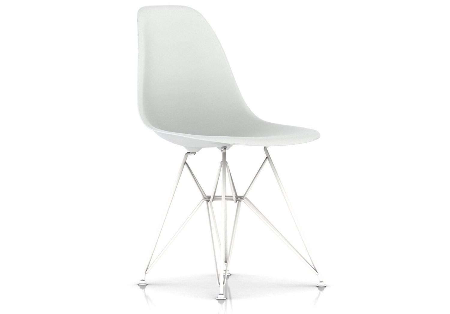 Herman Miller® Eames® Molded Plastic Side Chair Wire Base
