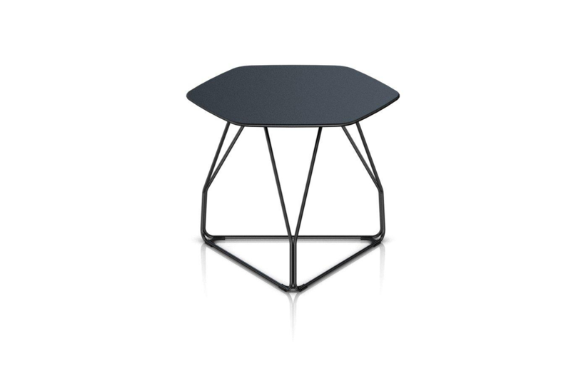 Herman Miller® Polygon Wire Table Hexagon