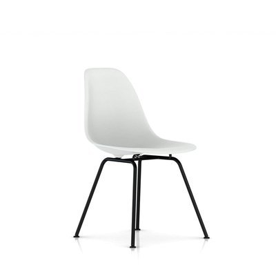 Herman Miller® Eames® Molded Plastic Side Chair 4-Leg Base