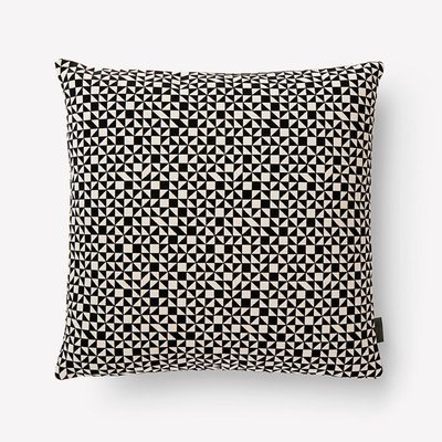 Maharam Checker Split Pillow by Alexander Girard