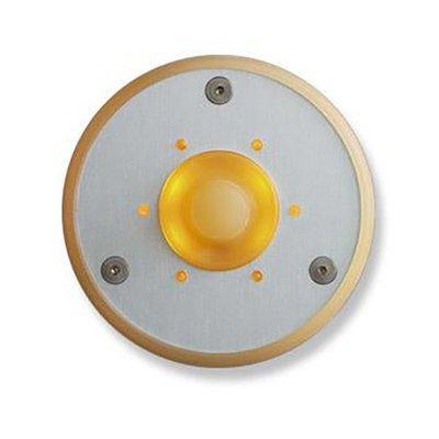 Spore Doorbell Button Round