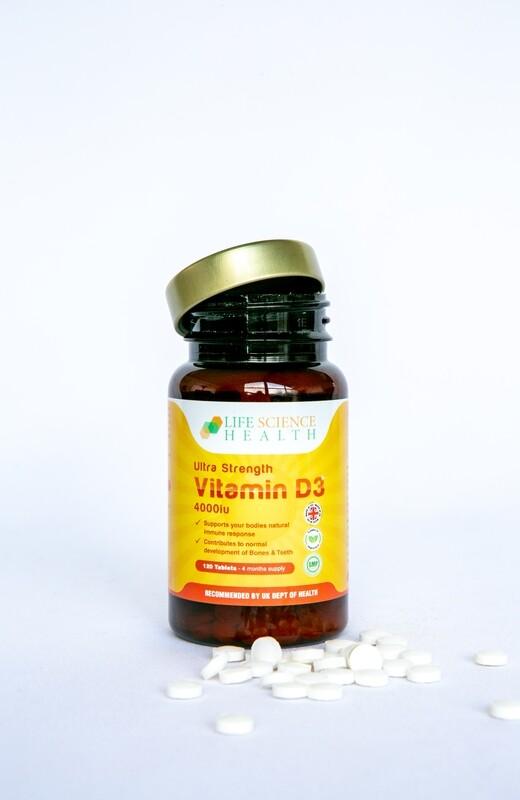 Ultra Strength Vitamin D3 4000 iu