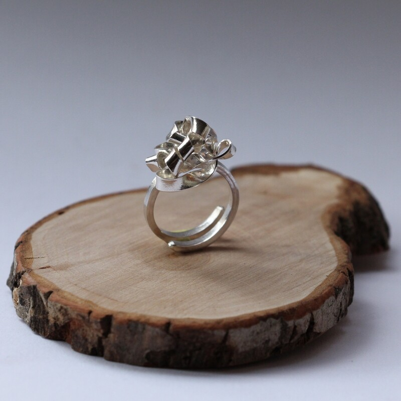 """Bague """"Carnaby"""" - Argent"""