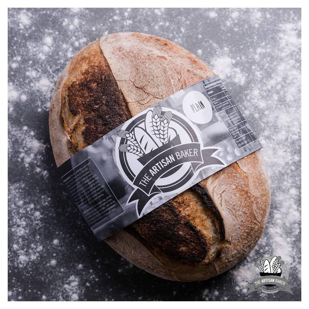 Plain Sourdough Bread (Frozen & Unsliced)