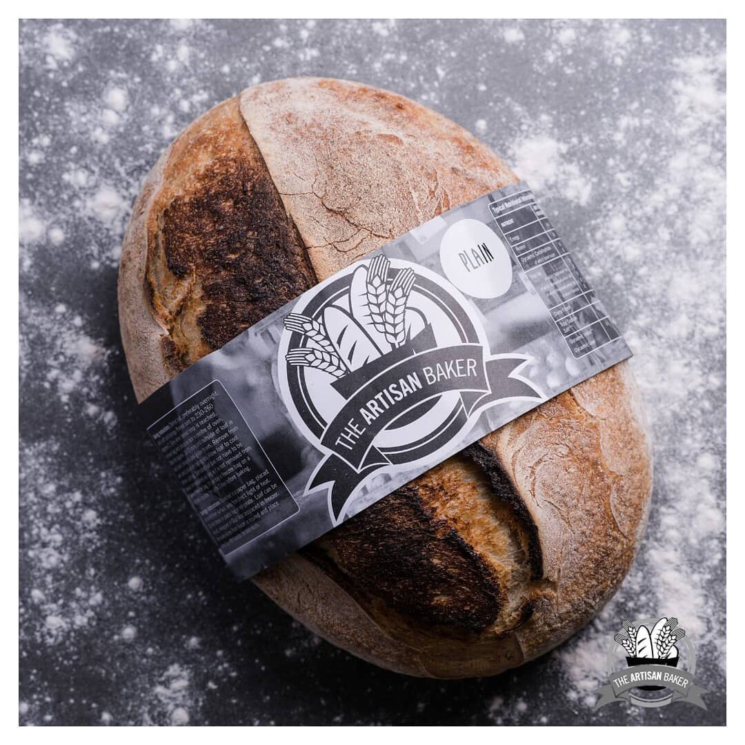 Plain Sourdough Bread (Frozen & Sliced)