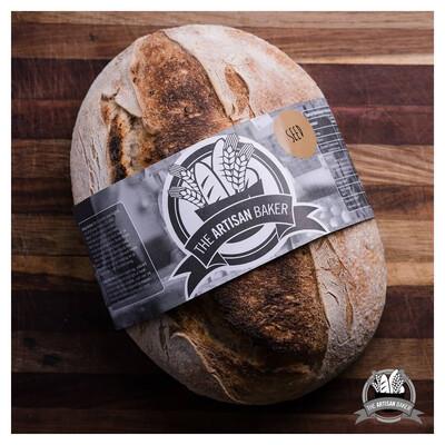 Seeded Sourdough Bread (Sliced)