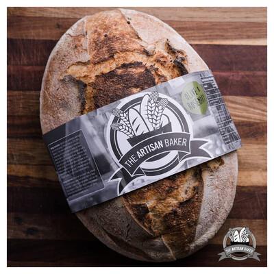 Olive & Rosemary Sourdough Bread (Sliced)