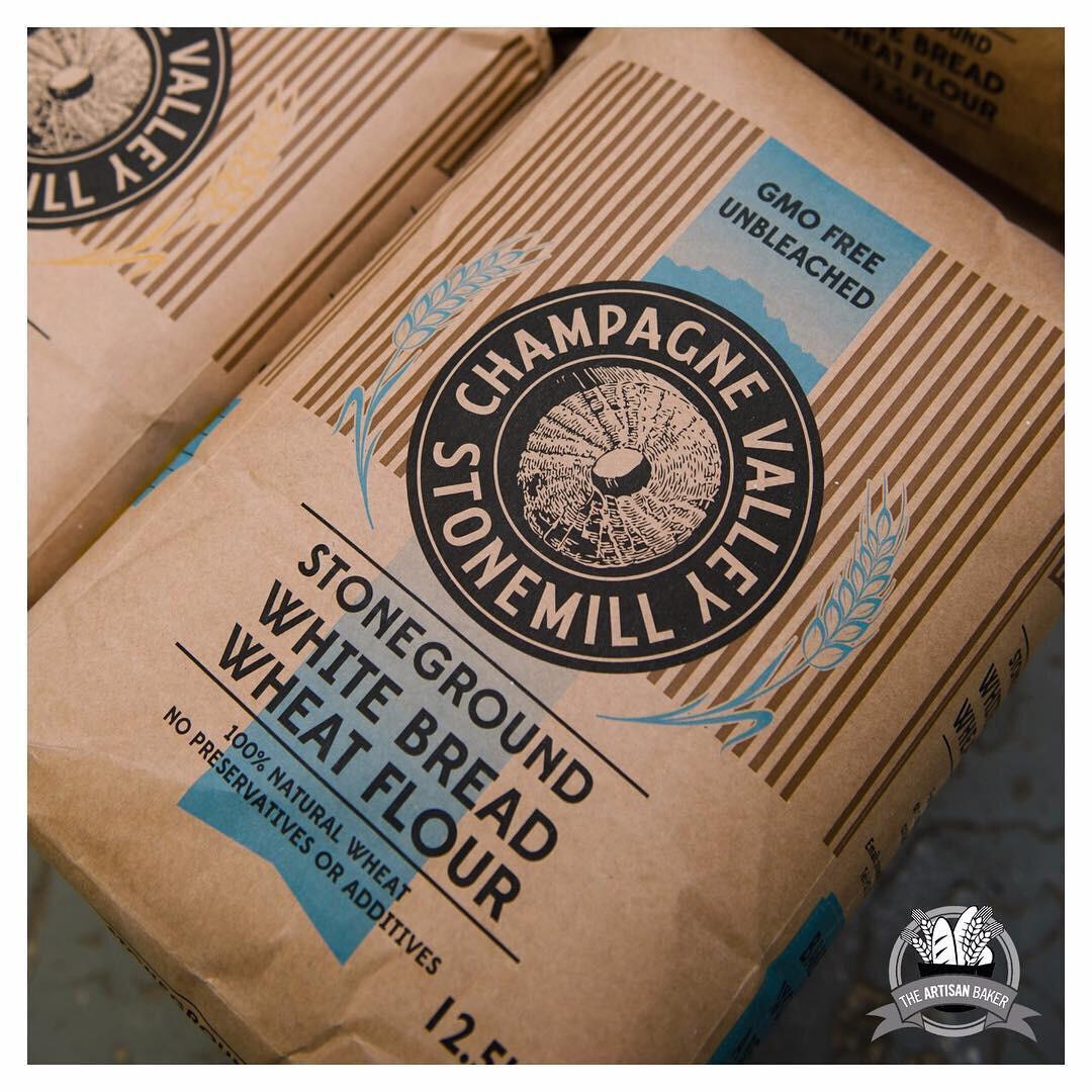 Stoneground White Bread Flour 2.5kg