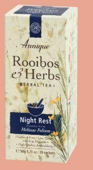 Herbal Tea: Rooibos & Melissa Leaf (Night Rest) 50g