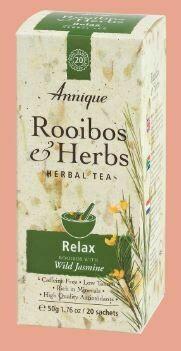 Herbal Tea: (Rooibos & Jasmin) Relax 50g