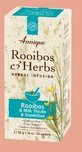 Herbal Tea: Rooibos & Milk Thistle & Dandelion 50g