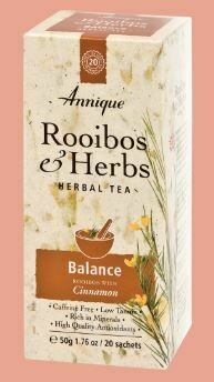 Herbal Tea: Rooibos & Cinnamon (Balance) 50g