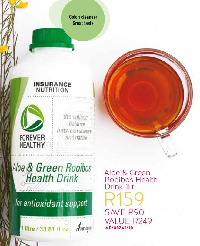 Aloe & Green Rooibos Health Drink