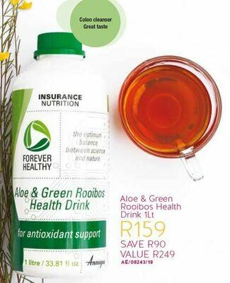 Aloe & Green Rooibos Health Drink