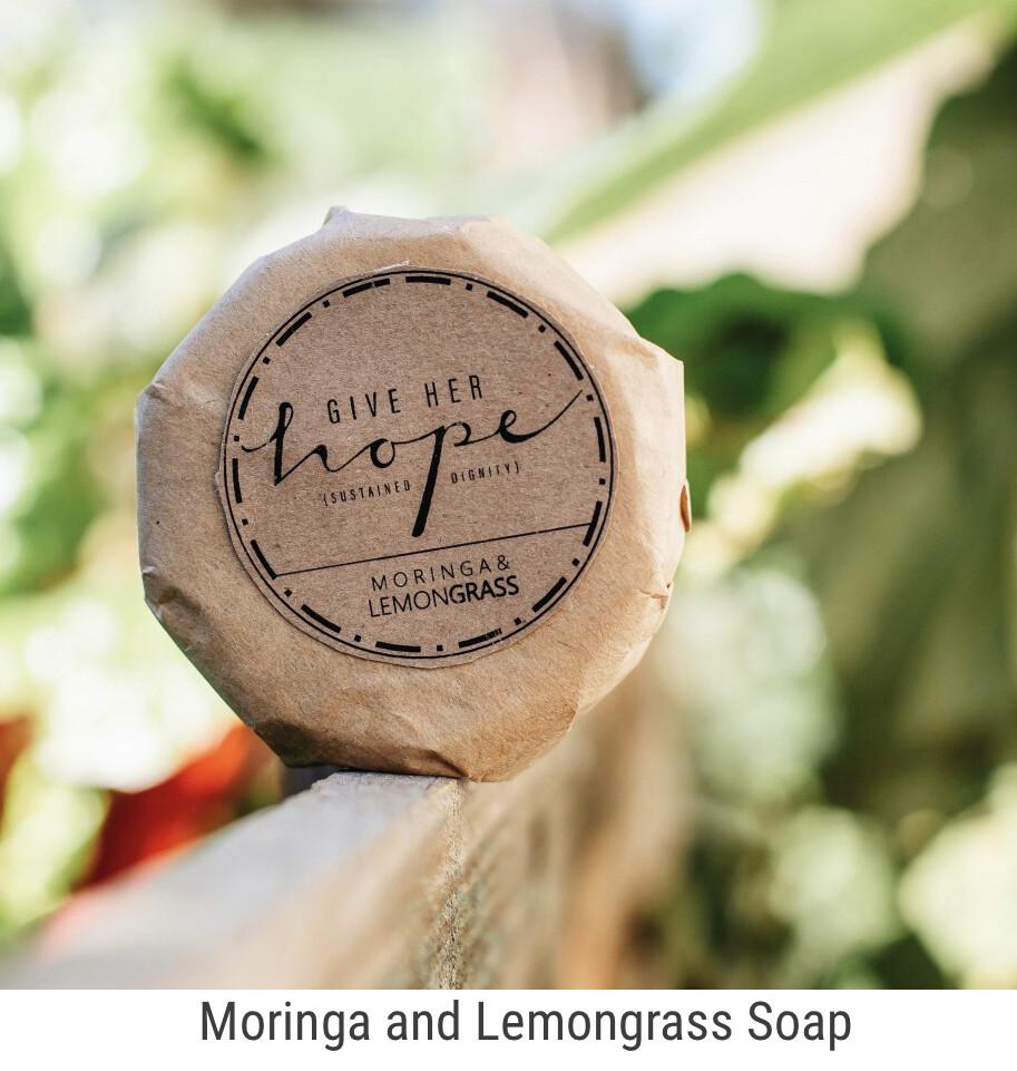 Moringa and Lemon Grass Soap