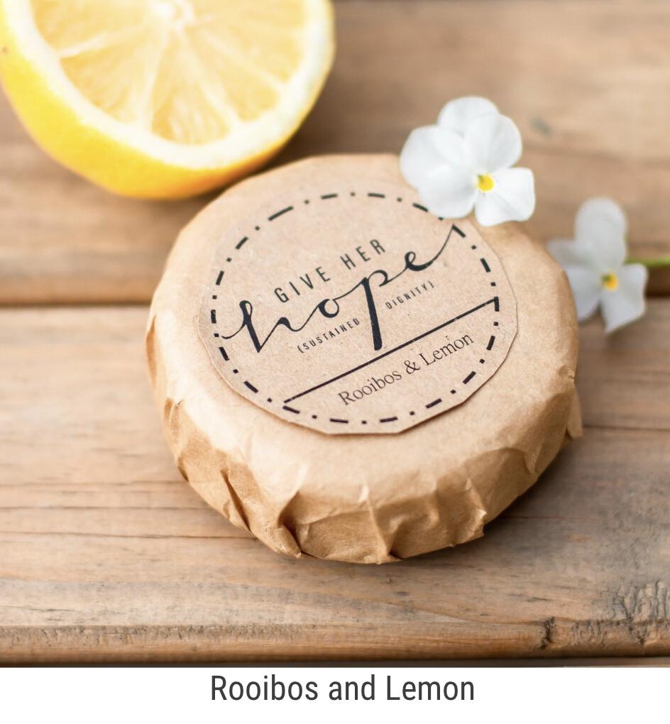 Rooibos and Lemon Soap