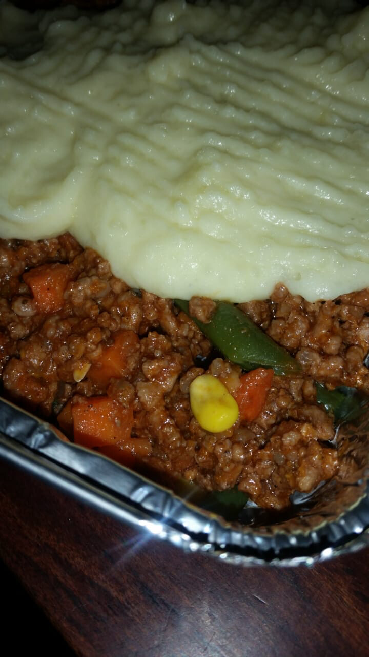 Beef Cottage Pie (to Order)