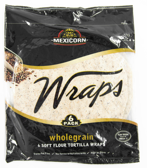 Wholemeal Wraps (6)