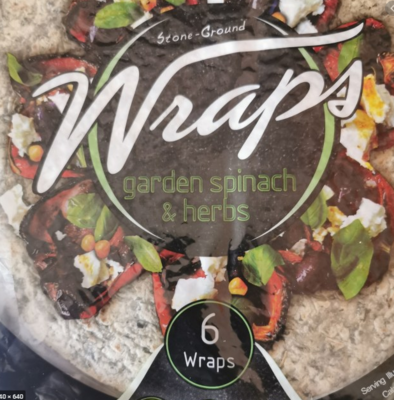 Spinach & Herb Wraps (6)