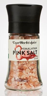 Himalayan Pink Salt Grinder