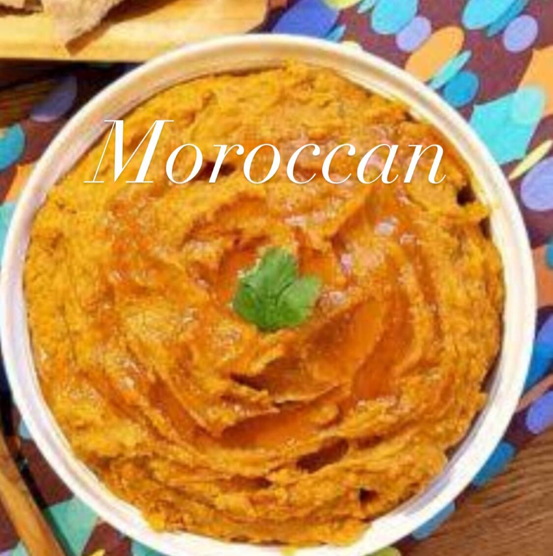 Hummus (Moroccan) 80g x 3 Lunch snack size